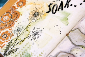 CiLi in Papers art journal maya isaksson soar