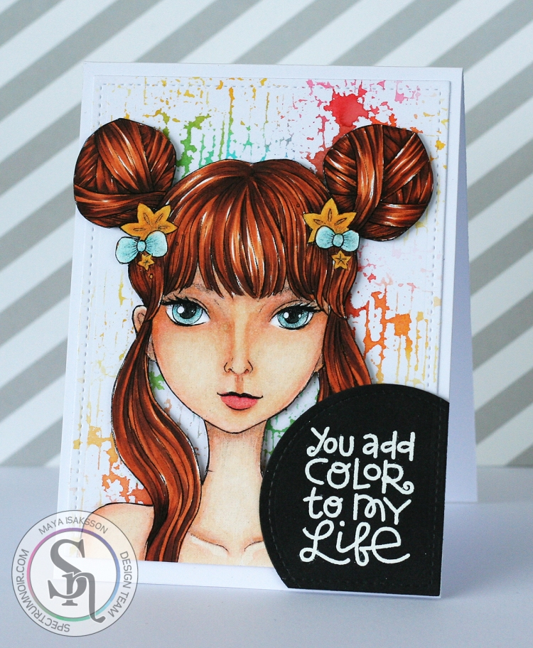 Spectrum Noir Maya Isaksson color my life watermarked
