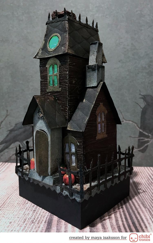Maya Isaksson Haunted house chibitronics sizzix2