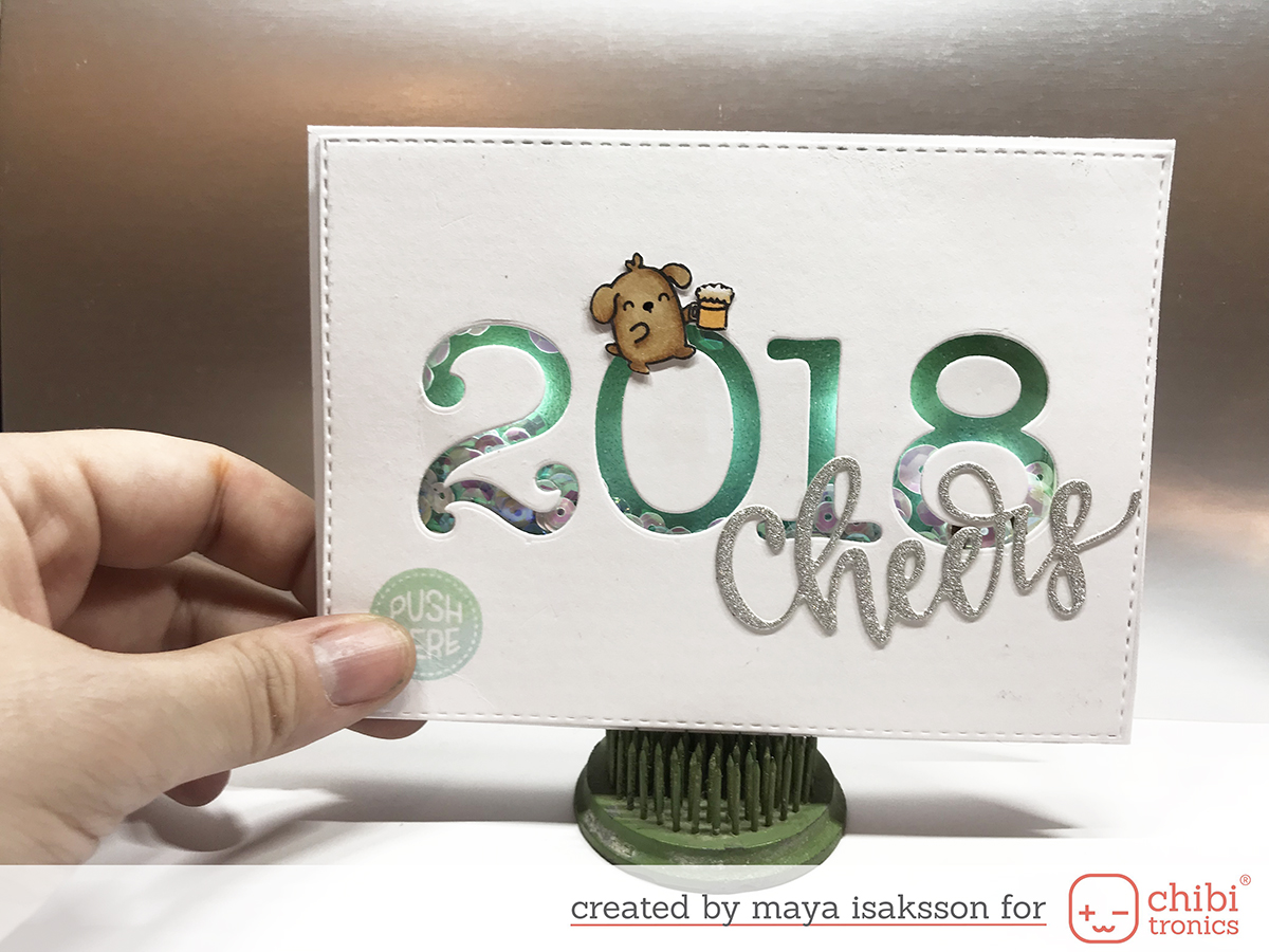 Maya isaksson chibitronics new years 2018 1