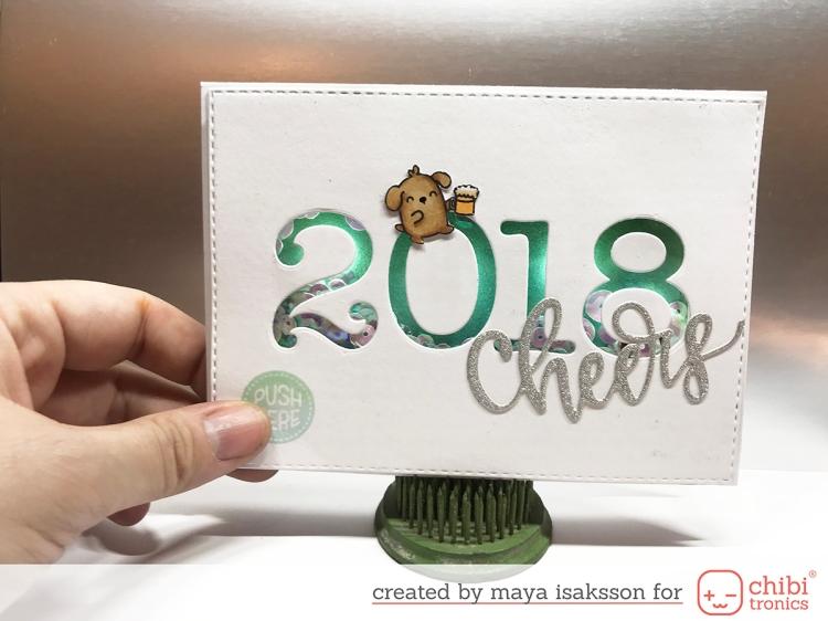 Maya isaksson chibitronics new years 2018 1