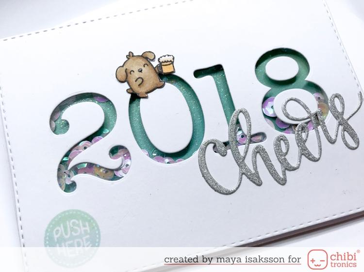 Maya isaksson chibitronics new years 2018 6