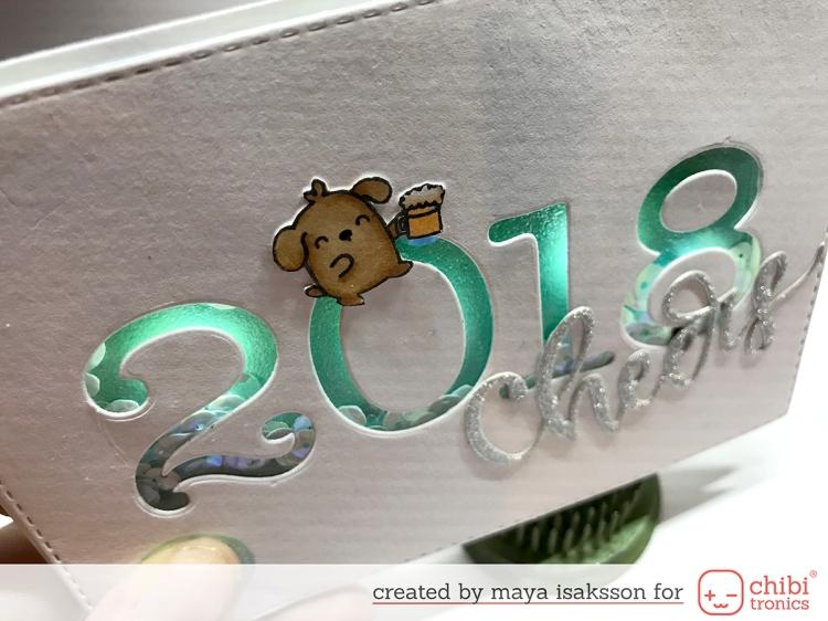 Maya isaksson chibitronics new years 2018