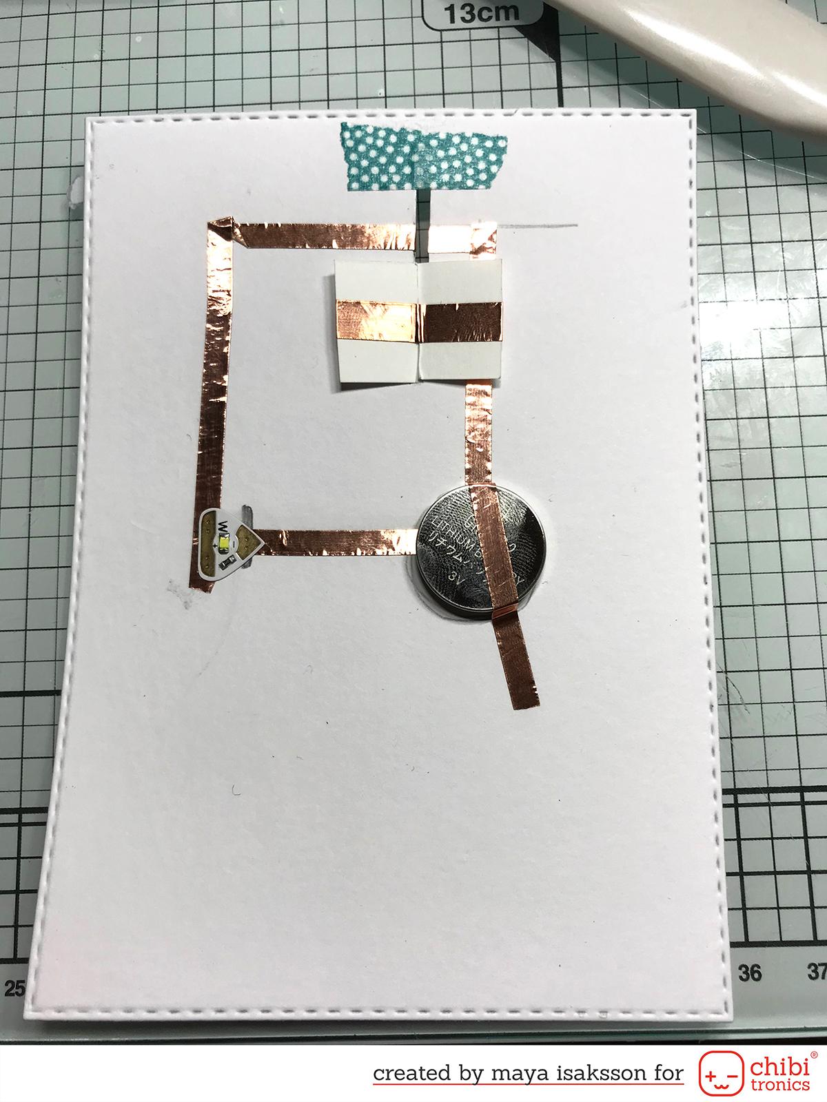 Maya isaksson chibitronics sweet stamp shop circuit3